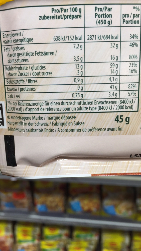 """Produkt """" Knorr Meine Kochide mon idée cuisine mix für ..."""