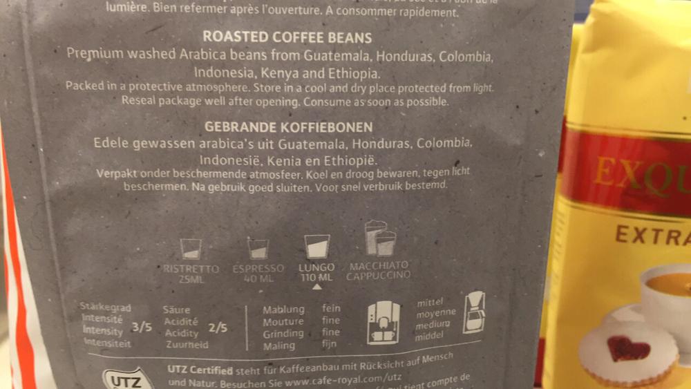 Licht Gebrande Koffiebonen : Produkt u eprince chester café royal blonde city roast gebrande