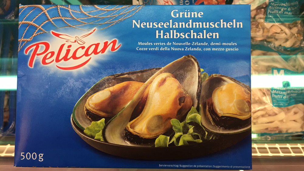 Product Pelican Green Mussels From New Zealand With Half A Shell