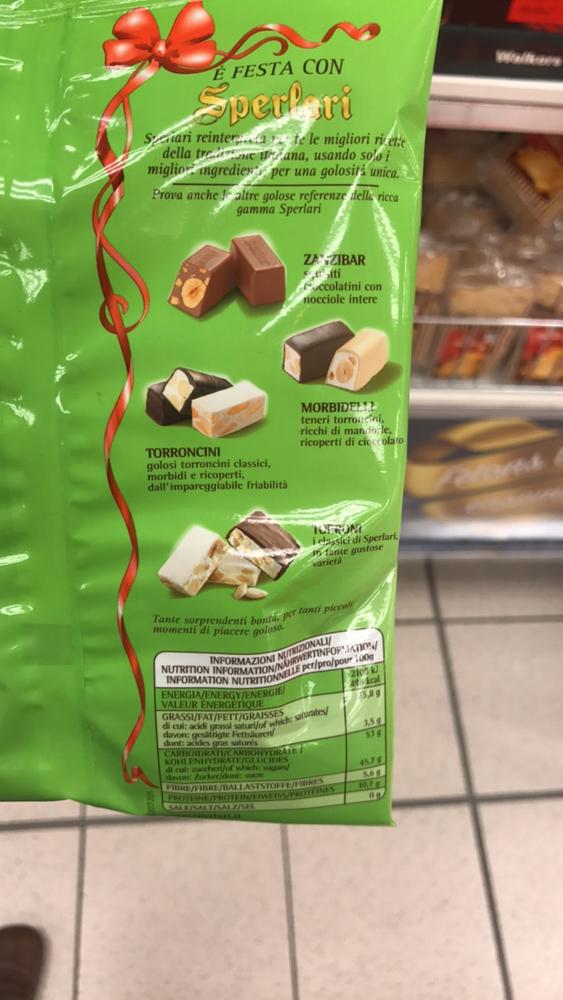 Product Sperlari Torroncini The Open Food Repo