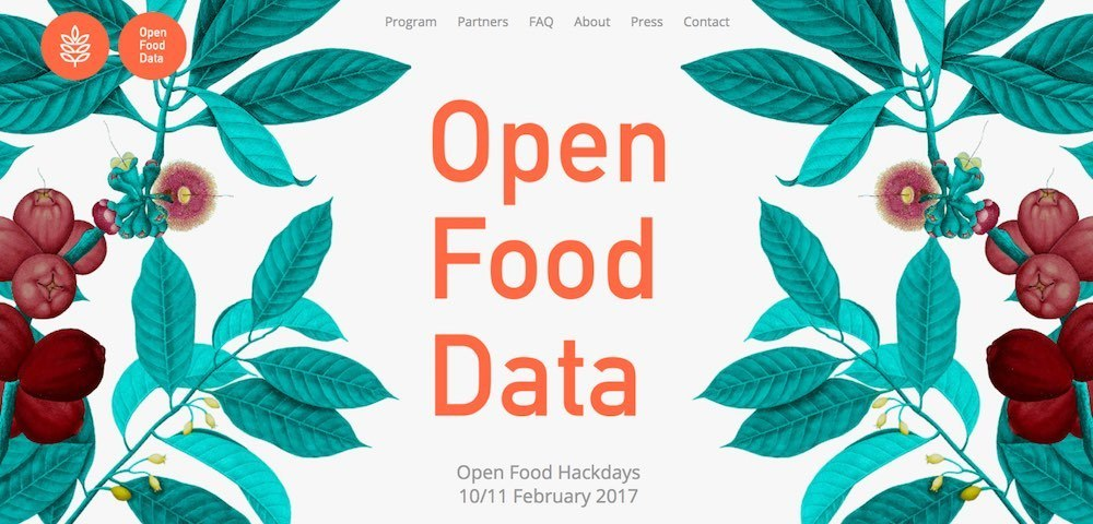 Open Food Hackdays 10/11 February 2017